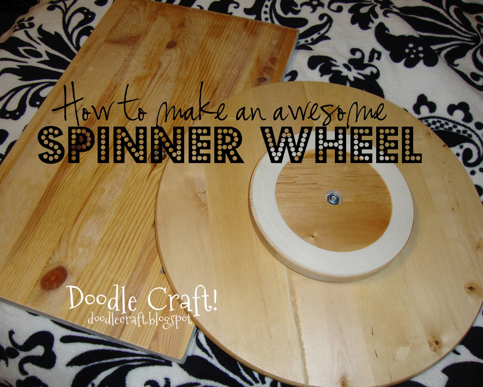 Doodlecraft super spinning prize wheel diy solutioingenieria Image collections