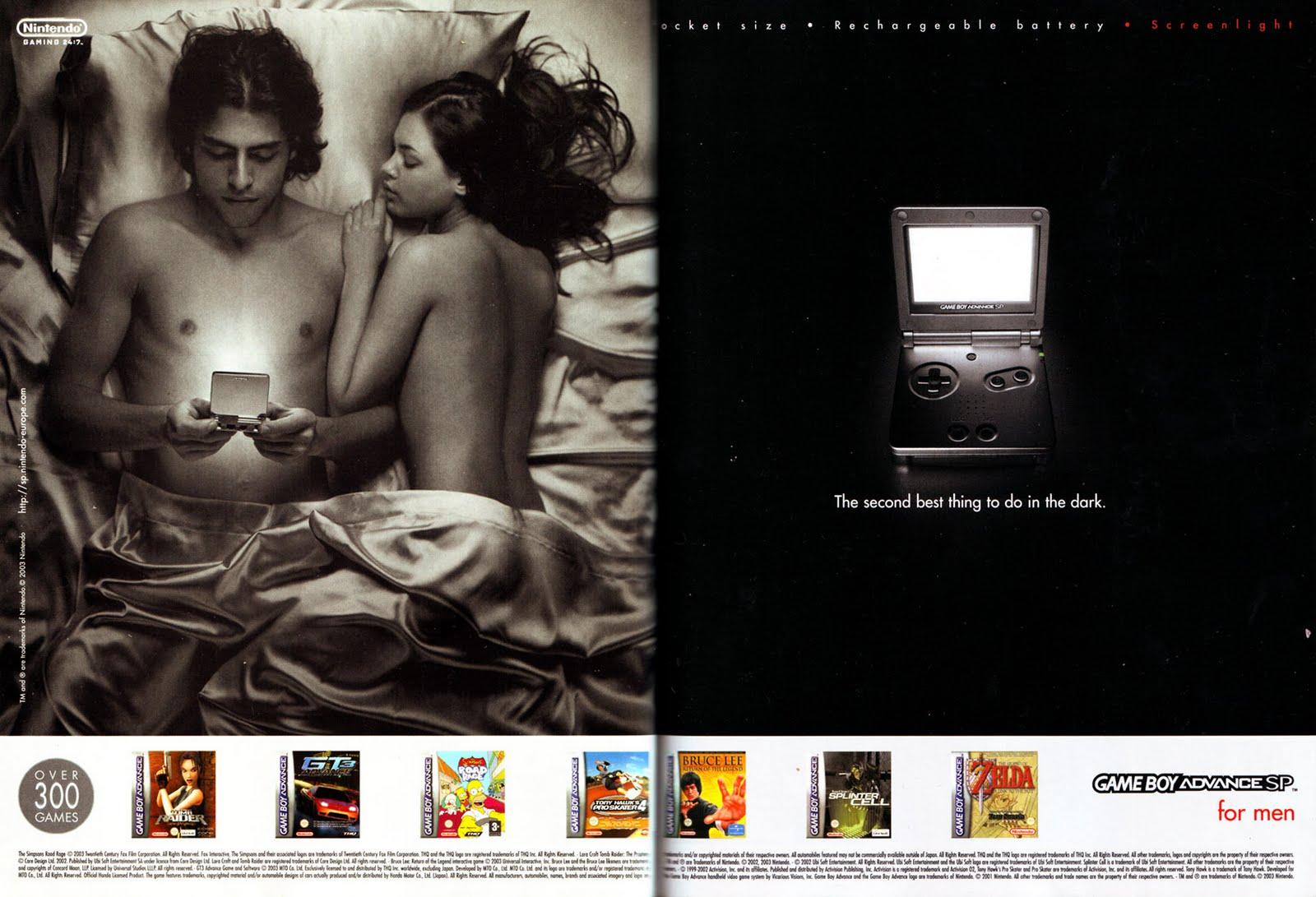 Sexy game ads