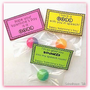 Schoolhouse Talk!: Bouncy Balls Valentine Printables