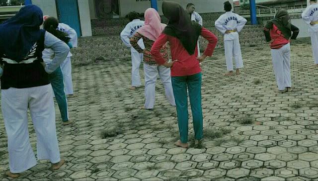Taekwondo pemanasan olahraga