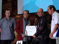 Wali Kota Kembali Raih Penghargaan Natamukti 2018