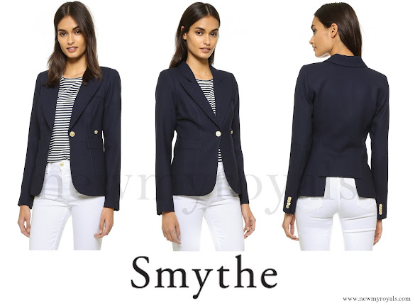 Kate Middleton wore SMYTHE One Button Blazer