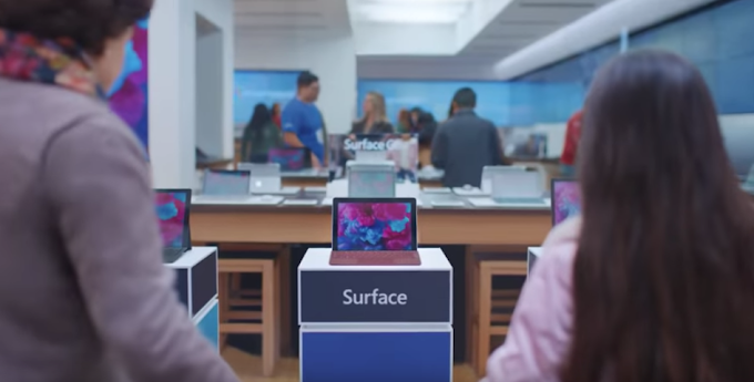 Microsoft releases new Surface Go ad comparing iPad to a toy