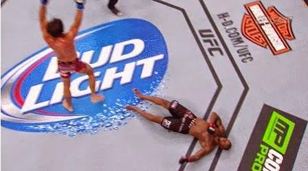 Josh Samman's Head Kick KNOCKOUT vs Eddie Gordon UFC 181 All credits to Zuffa Josh Samman knocks out...