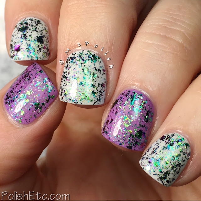 Glitter Daze - Flora Noxia Collection - McPolish - Delphinium