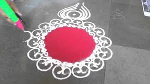 Easy Designs For Rangoli Diwali