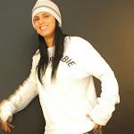 Andrea Rincon, Selena Spice Galeria 19: Buso Blanco y Jean Negro, Estilo Rapero Foto 9