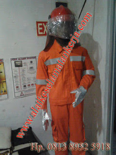 BAJU PEMADAM BAHAN FIRE RETARDANT COTTON