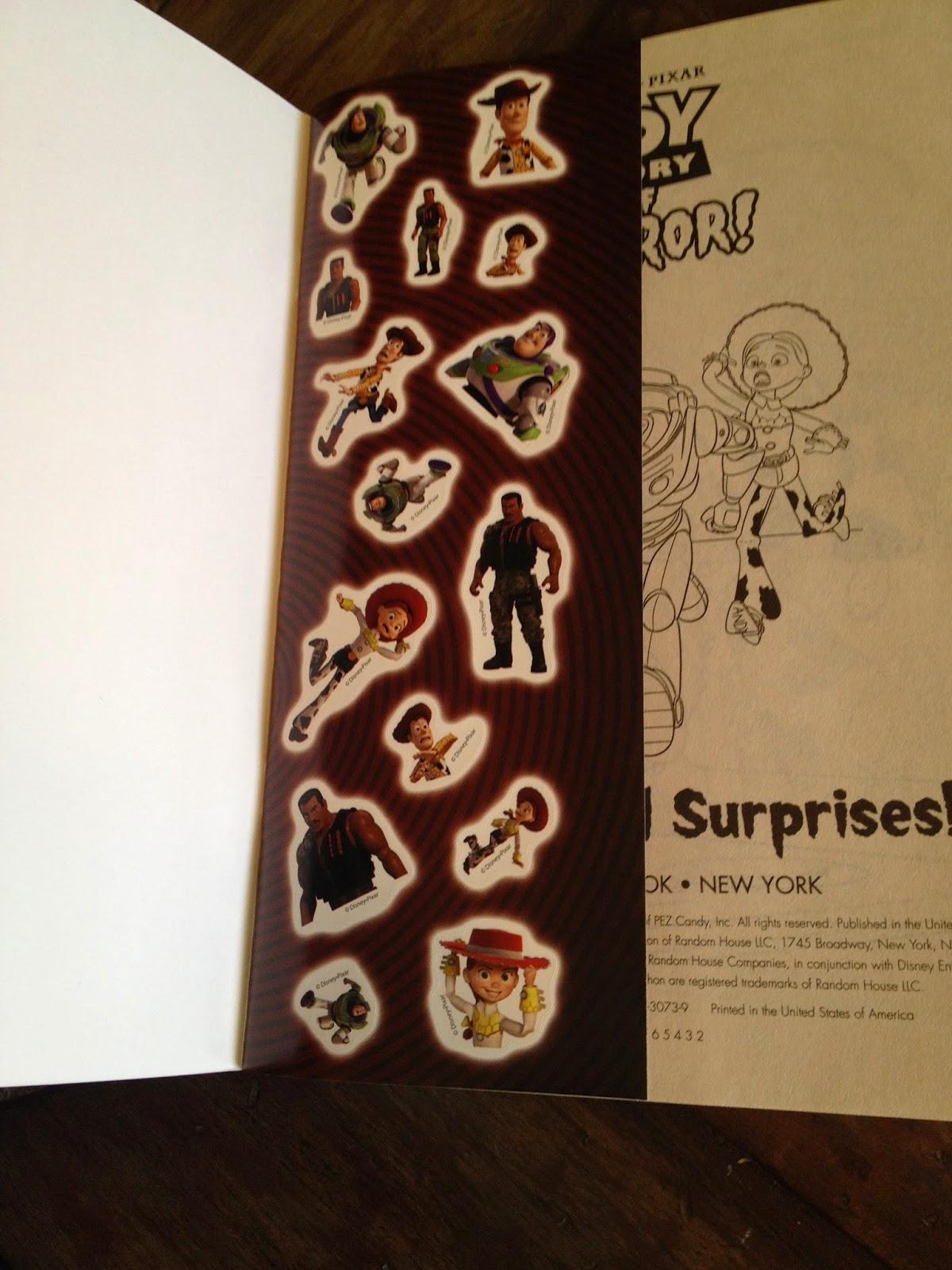 Dan the Pixar Fan: Toy Story of Terror: Coloring Book