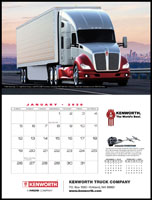 Kenworth Trucks 2020 Appointment Calendar