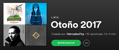 Las playlists de Mercadeo Pop en Spotify