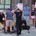 El Dramático Momento En Que Un Pitbull Ataca A Otro Perro Delante De Su Dueña