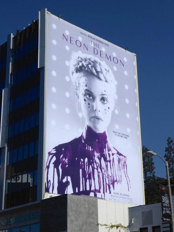 Neon Demon film billboard