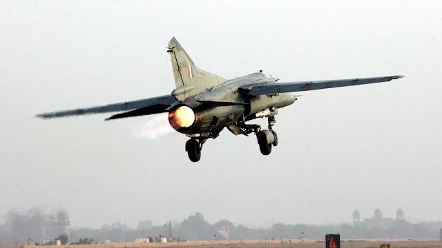 Indian Air Force MiG-27 The Bahadur