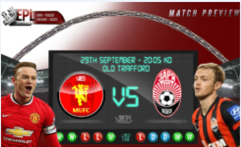 Manchester United v Zorya... LIVE HD