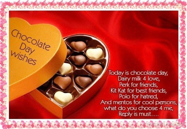 Chocolate Day Wishes, Messages, SMS, Quotes and Images