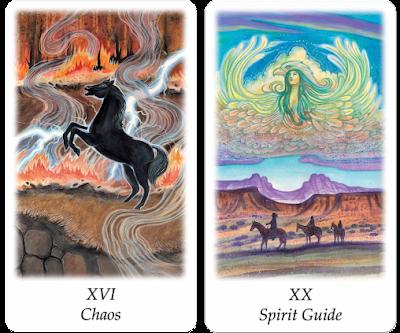 Vision Quest Tarot Chaos Spirit Guide