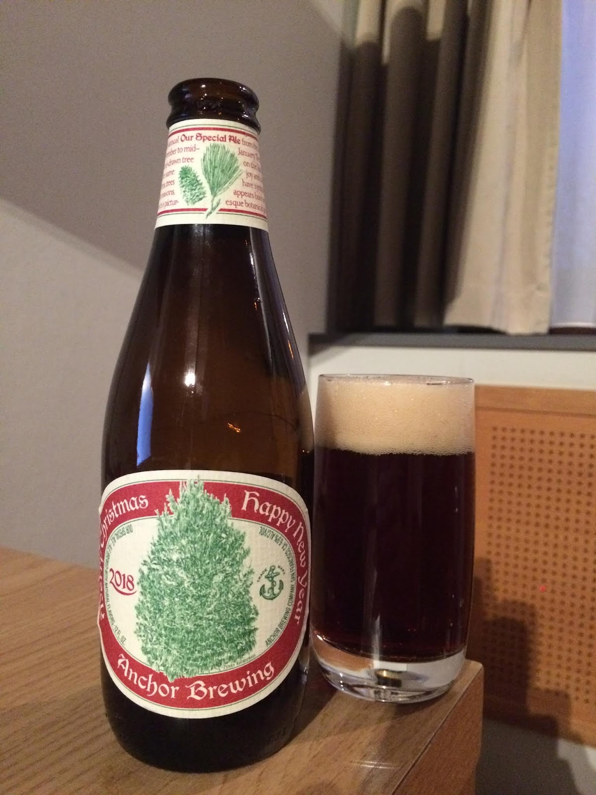 Anchor Brewing Merry Christmas Happy New Year