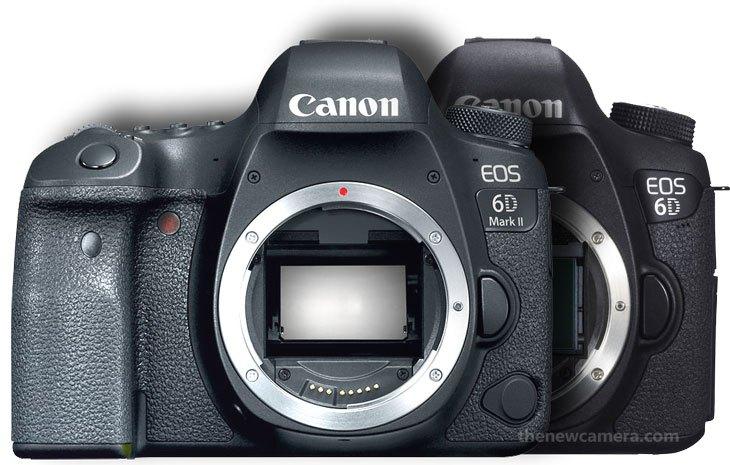 Сравнение Canon EOS 6D и 6D Mark II