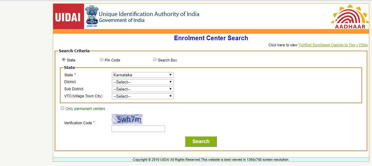 How to Apply for Aadhaar Card Online in Karnataka