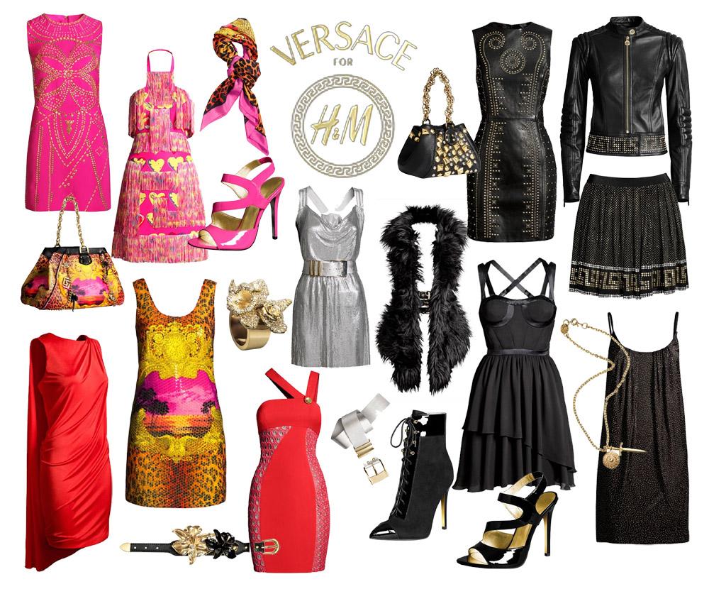 fashion love neue bilder von der versace for h m kollektion. Black Bedroom Furniture Sets. Home Design Ideas
