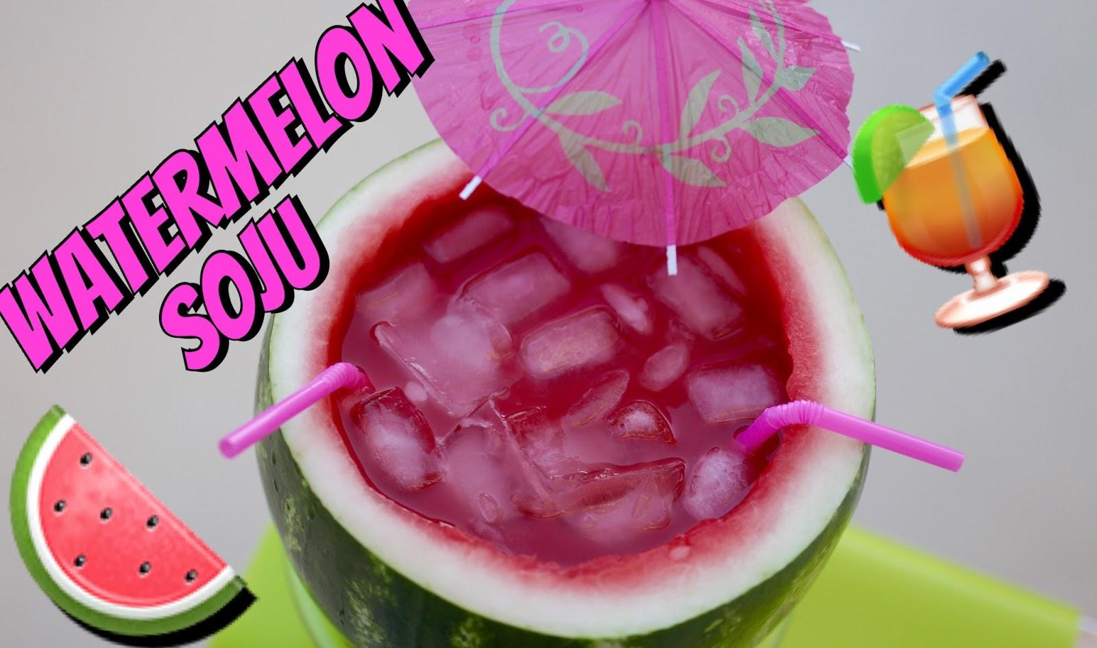 Tin's Bloggin: Watermelon Soju Cocktail Recipe | Twilightchic143