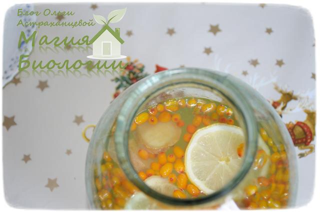 облепиховый-напиток-облепиха-лимон-корица-имбирь