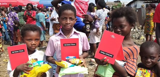 Love Always On: Itel Mobile adding colours to over 6000 lives in Nigerian communities nationwide