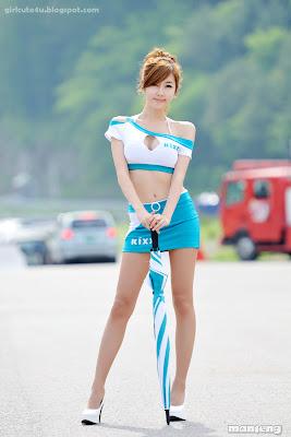 xxx nude girls: Choi Choi Byeol Yee, CJ Super Race R2 2011