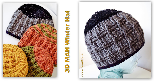 man hat, beanie, winter, family