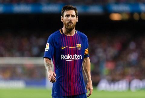 """Đến cuối mùa, tiền đạo Messi đã """"đuối sức""""."""