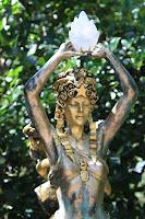 """Statue """"Civitas"""" [1988] - Audrey Flack in the Sydney and Walda Besthoff Sculpture Garden"""