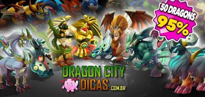 Muitas Promoções e Back Friday no Dragon City!