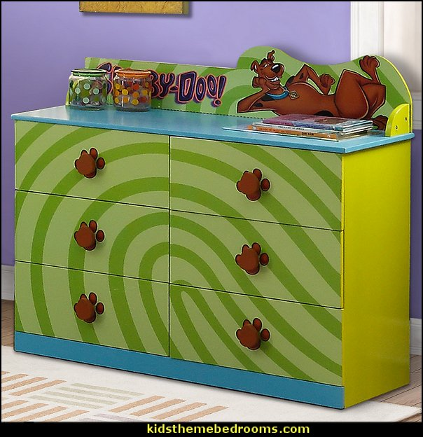 Scooby Doo Dresser      Scooby Doo furniture