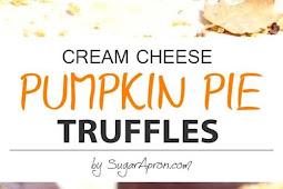 Pumpkin Pie Truffles Recipe