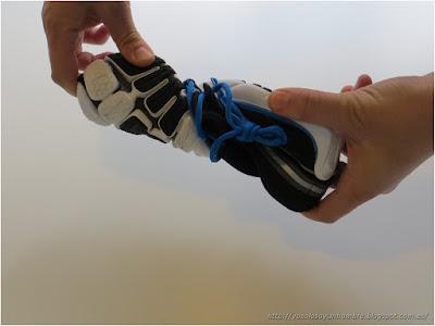 zapatilla minimalista - flexibilidad