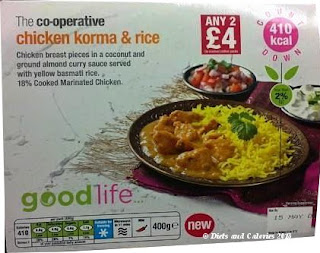 The Co-operative good life... Chicken Korma & Rice