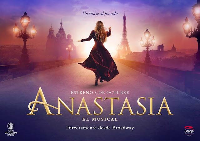 ANASTASIA EL MUSICAL: UNA PRINCESA REAL EN UN ESPECTÁCULO DE ENSUEÑO