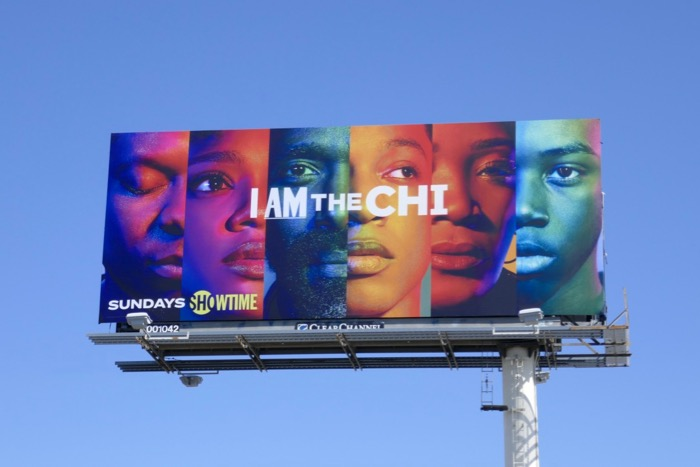 I am The Chi season 2 billboard
