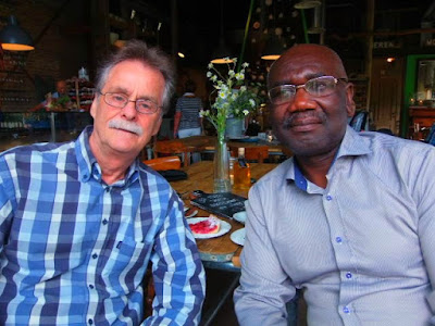 Dutch scientist and micro-surgeon, Johan Van Dongen and Belgium freelance journalist and author, Joel Savage