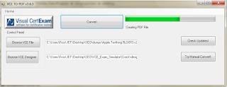 VCE to PDF Converter App