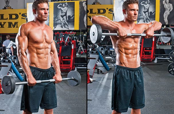 BEST EXERCISES YOU'RE NOT DOING - Wide-Grip Upright Row