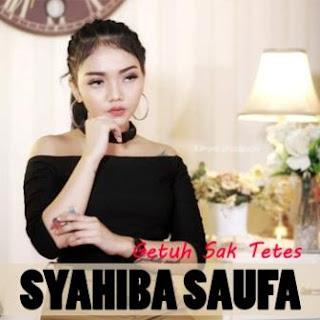 Lagu ini masih berupa single yang didistribusikan oleh label Dapoer Studio Lirik Lagu Syahiba Saufa - Getuh Sak Tetes