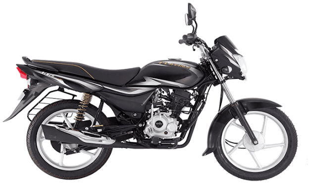 New 2018 Bajaj Platina Comfortec side view image