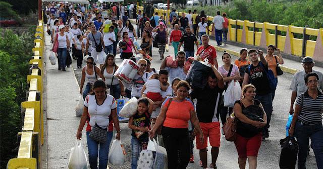 Alerta por inminente éxodo masivo de venezolanos a Colombia