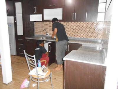 kitchen set murah dan mewah