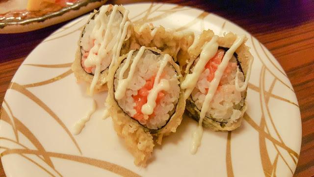 sushi japanese food edo ichi sandakan