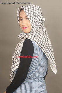 jilbab monocrome