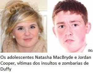 Natasha MacBryde e Jordan Cooper