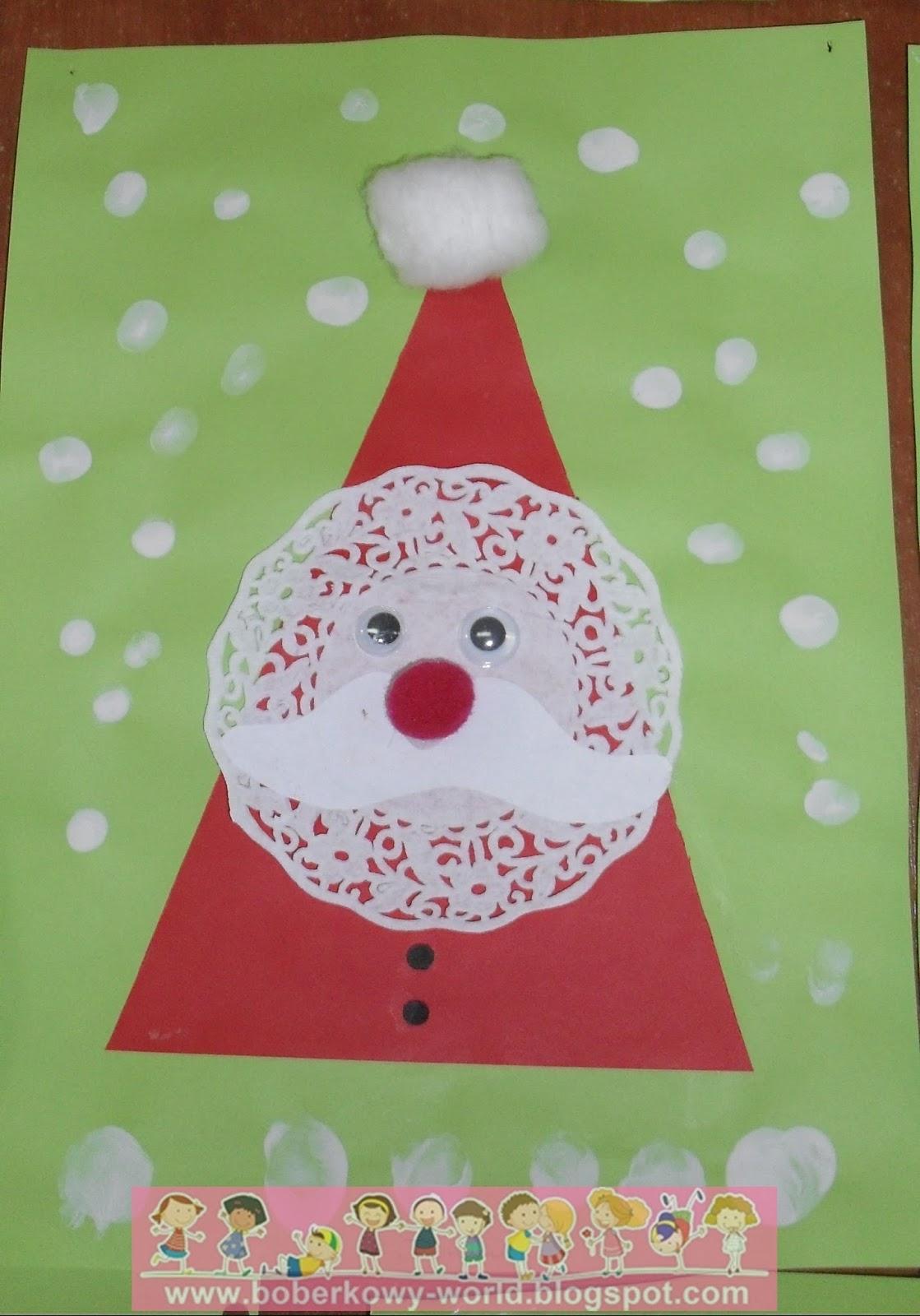 Boberkowy World Mikołaj Praca Plastyczna